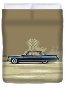 1961 Cadillac Fleetwood Sixty-special Duvet Cover by Bruce Stanfield