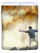 Joe Vs. The Volcano Duvet Cover