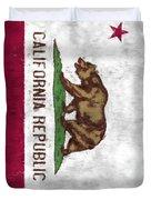 California Flag Duvet Cover