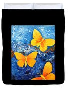 Butterfly In Blue 1 Duvet Cover