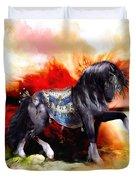 Kachina Hopi Spirit Horse  Duvet Cover