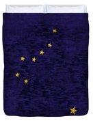 Alaska Flag Duvet Cover