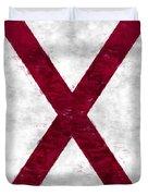 Alabama Flag Duvet Cover