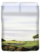 Torrey Pines South Golf Course Duvet Cover