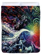 The Path To Enlightenment Duvet Cover