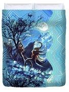 Love For Moon Light Duvet Cover