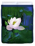Midnight Lotus Duvet Cover