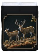 Mule Deer Ridge Duvet Cover