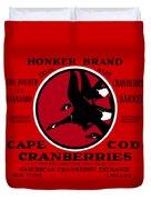 1900 Honker Cranberries Duvet Cover