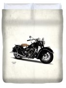 Indian Chief 1946 Duvet Cover