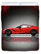 Chevrolet Corvette Stingray Duvet Cover