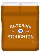 Entering Stoughton Duvet Cover