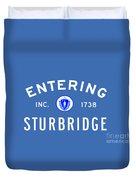 Entering Sturbridge Duvet Cover