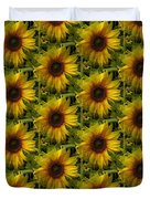 Lost In The Crowd Duvet Cover