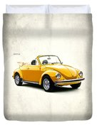 Vw Beetle 1972 Duvet Cover