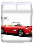 Ferrari 250 Gt Duvet Cover by Mark Rogan