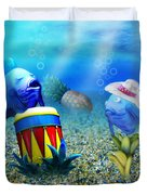 Tropical Vacation Under The Sea Duvet Cover