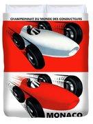Monaco 1959 Duvet Cover