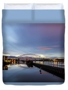 As Day Turns To Night Duvet Cover