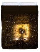As Seen Through A Shower Door, A Girl Duvet Cover