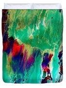 As The Colors Blend.. Duvet Cover