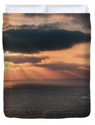 As The Day Ends Duvet Cover