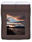 As The Sun Sets Over Loch Rannoch Duvet Cover