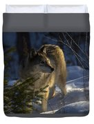 As The Woods Awakes Duvet Cover