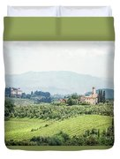 As Time Goes By Duvet Cover