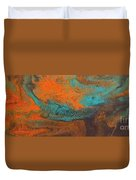 As  Water Flows Duvet Cover