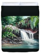 Asa Wright Falls      Sold Duvet Cover