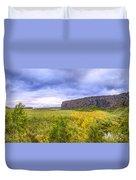 Asbyrgi Canyon Duvet Cover