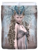 Ashen Queen Of The Mountain 2 Duvet Cover