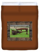 Ashes To Ashes - Rust To Rust Duvet Cover