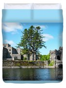 Ashford Castle And Cong River Duvet Cover