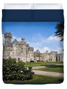 Ashford Castle, County Mayo, Ireland Duvet Cover