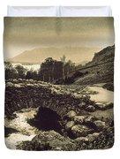 Ashness Bridge Cumbria England Duvet Cover