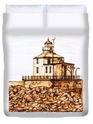 Ashtabula Harbor  Duvet Cover