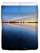 Ashurst Lake Sunrise Duvet Cover