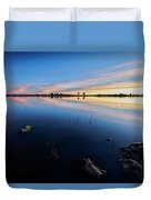 Ashurst Lake Sunrise Duvet Cover