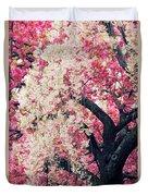 Asian Cherry Vignette Duvet Cover