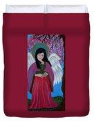 Asian Earthangel Tuyen Duvet Cover