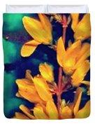 Asian Flower Duvet Cover