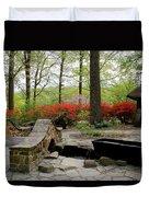 Asian Garden Duvet Cover