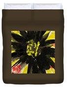 Asian Sunflower Duvet Cover