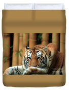 Asian Tiger 5 Duvet Cover