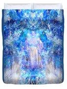 Asiaq-goddessofweather Duvet Cover