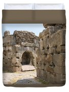 Asklepios Temple Ruins Duvet Cover