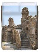 Asklepios Temple Ruins View 2 Duvet Cover