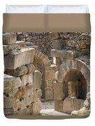 Asklepios Temple Ruins View 3 Duvet Cover